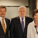 Heinrich Joos, Luis Bassat y Regina Knaster