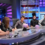Los integrantes de Tokio Hotel en 'El Hormiguero'