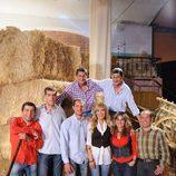 Luján y los granjeros del programa