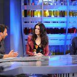 Rachel Weisz y Alejandro Amenábar en el programa 'El hormiguero'