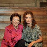 Amparo Baró y Cristina Marcos