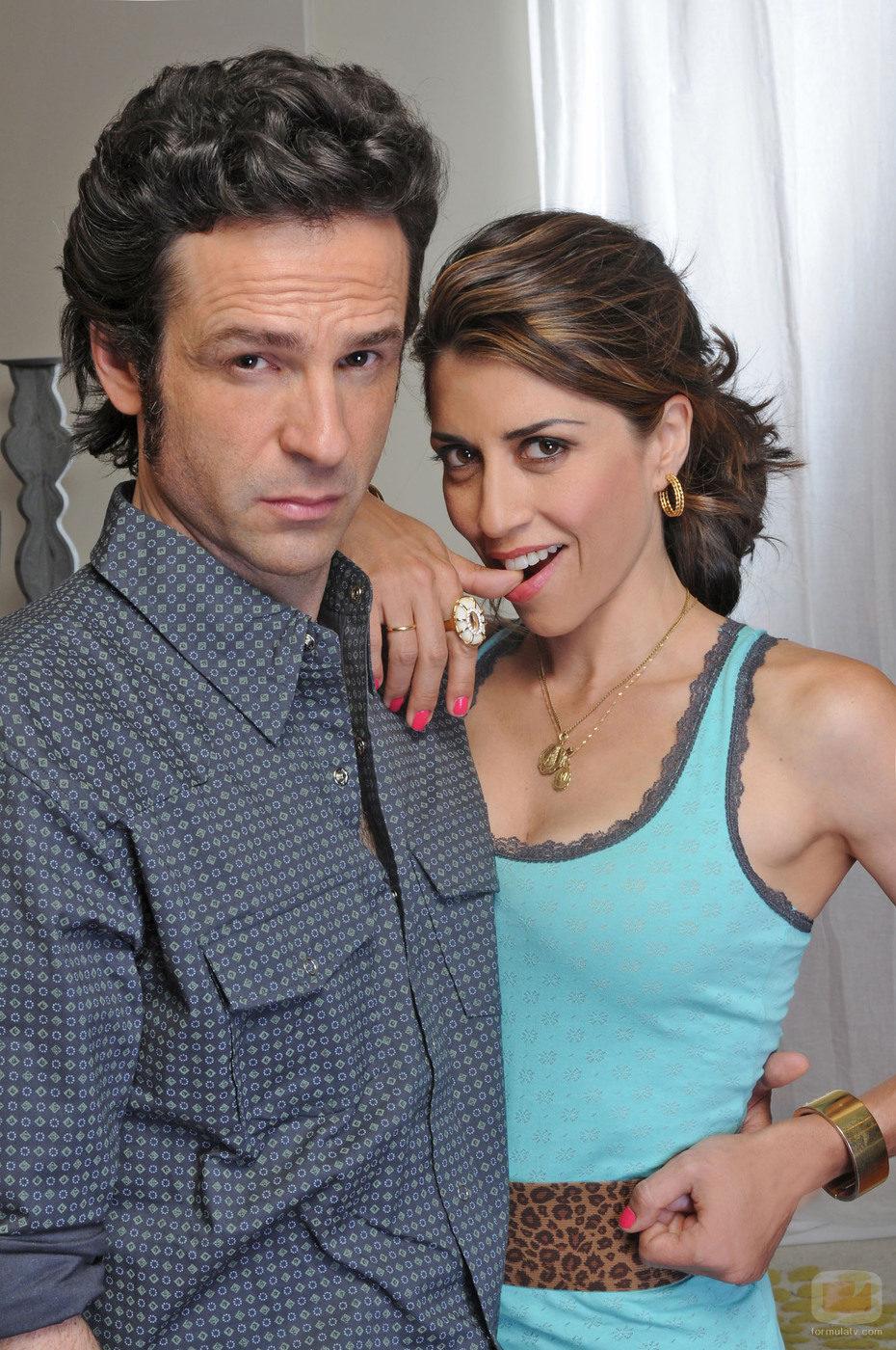 Gustavo Salmerón y Alicia Borrachero