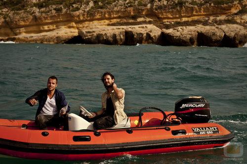Francino y Hortelano en 'Punta Escarlata'