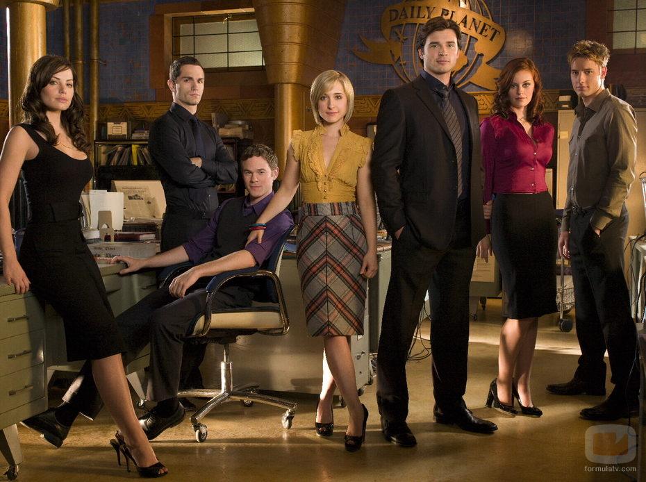 El reparto de 'Smallville'