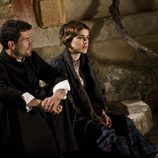 Ángel y Victoria en 'La Señora'