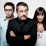 Berto Romero, Andreu Buenafuente y Ana Morgade
