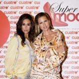 Judit Mascó y Vicky Martín Berrocal en un acto promocional de 'Supermodelo 2007'