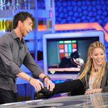 Shakira entrevistada por Pablo Motos