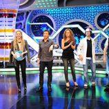 Shakira con Flipy y Pablo Motos en 'El hormiguero'