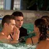 Los chicos de 'FoQ' en la piscina