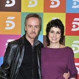 Foto promocional de Carlos Hipólito y Adriana Ozores