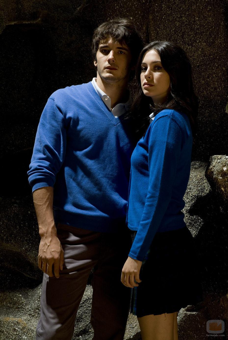 Iván y Julia, de El internado
