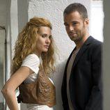 Carles Francino y Elena Ballesteros en 'Punta escarlata'