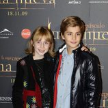 Denisse Peña (Evelyn) y Javier Cidoncha (Lucas)