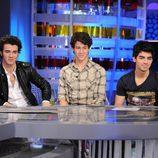 Los Jonas Brothers visitan 'El hormiguero'