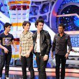 Los Jonas Brothers en 'El hormiguero'