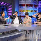 Los Jonas Brothers con Pablo Motos