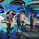Los Jonas Brothers con Marron