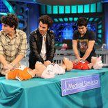 Primeros auxilios con los Jonas Brothers