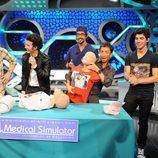 Los Jonas Brothers aprenden primeros auxilios