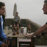 Gonzalo Kindelán y Daniel Freire en 'Doctor Mateo'