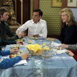Comida familiar en casa de los Alcántara en 'Cuéntame cómo pasó'