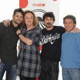 Carmela, Antonio, Fran y Merino de 'Pekín Express'
