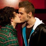 David y Fer se besan en 'Física o Química'