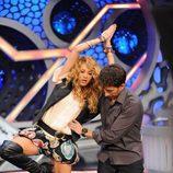 Paulina Rubio bailando