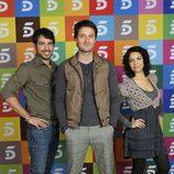 Alejandro Tous, Fernando Andina y Diana Palazón
