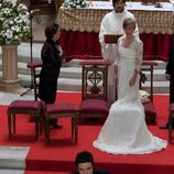Blanca y Martín en el altar