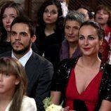 Olimpia y Roque en la boda de Blanca y Martín