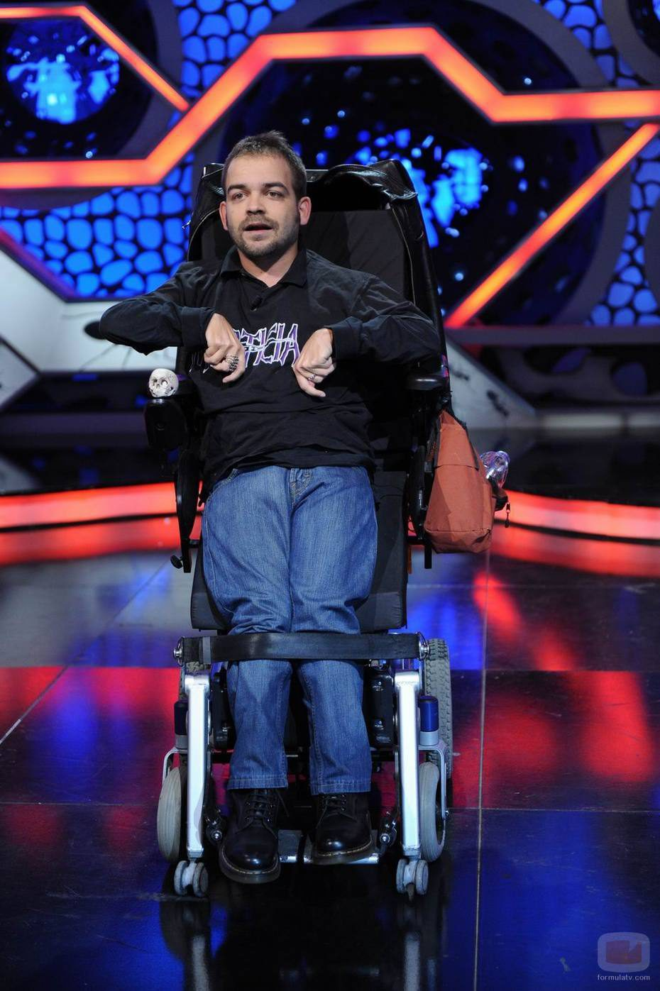 silla de ruedas hormiguero