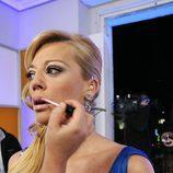 Belén Esteban en maquillaje