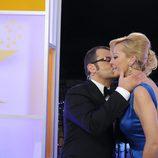 Jorge Javier Vázquez besa a Belén Esteban