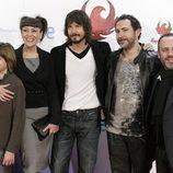Guillermo Campra, Pepa Aniorte, David Janer, Santiago Molero y Javier Gutiérrez