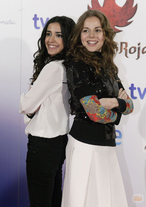 Inma Cuesta y Miryam Gallego