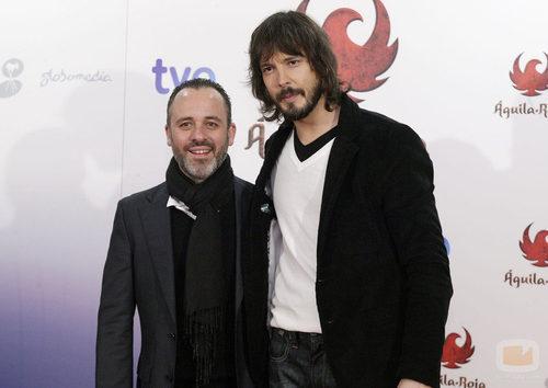 Los actores Javier Gutiérrez y David Janer