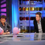 Barrancas habla con Hugh Grant