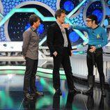 Pablo Motos, Hugh Grant y Flipy como el capitán Spok