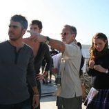 Fernando Colomo da indicaciones a los actores