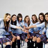 Las chicas protagonistas de 'El pacto'