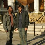 Lennie James y Skeet Ulrich en 'Jericho'