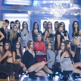 Judit Macó y las consursantes de Supermodelo 2007 en ropa interior