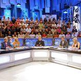 Mesa de debate de 'La noria'