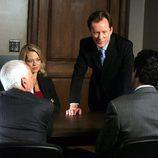 El abogado Shark con unos clientes