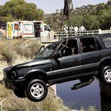 Accidente de coche en 'Acusados'