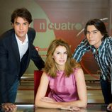 Roger Persiva, Ana García-Siñeriz y Daniel Serrano
