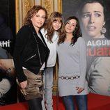 Sonia Castelo, Mónica Rodríguez y María Cotiello