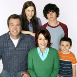 Los protagonistas de 'The Middle'